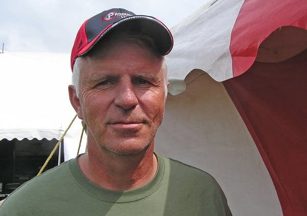 Farmer Mark Loewen