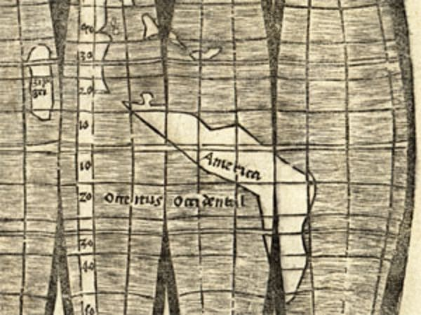 500 Year Old Map Of America.U Of M S 500 Year Old Map Shows First Reference To America Mpr News
