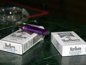 2005 file photo of cigarettes