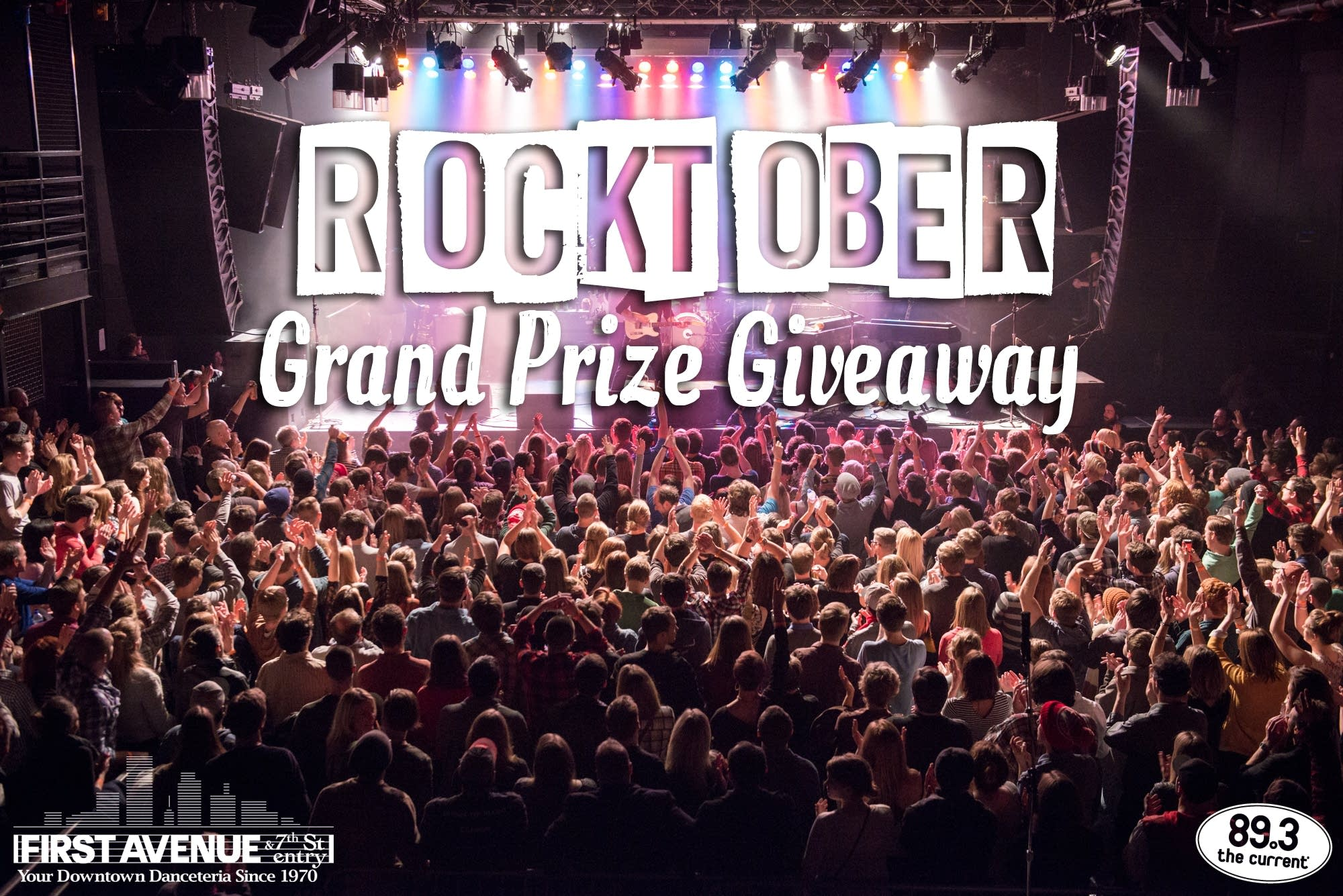 Enter The Current's First Avenue Rocktober Grand Prize Giveaway ...