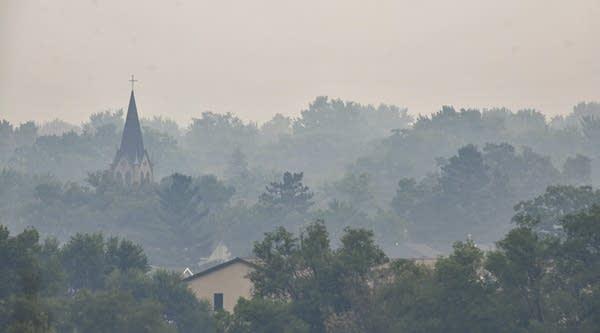 Canada Wildfires Minnesota