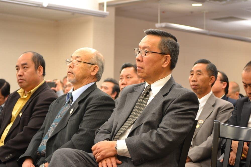 Hmong community members