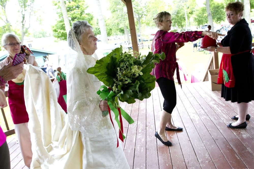 Rhubarb wedding