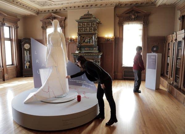 Nobel creations exhibit
