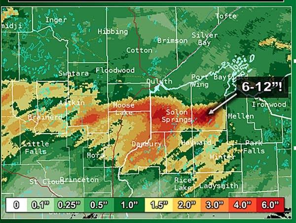Rainfall estimate