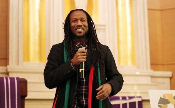 Minneapolis hip-hop artist Toki Wright