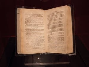 A rare Bible from the 1800s.