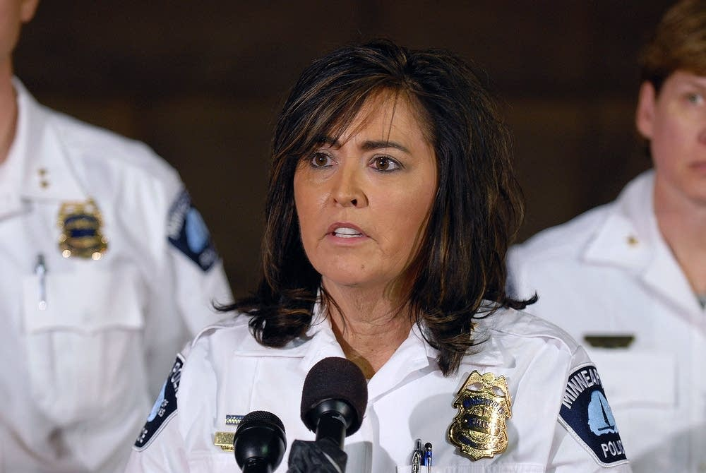 Police Chief Janee Harteau