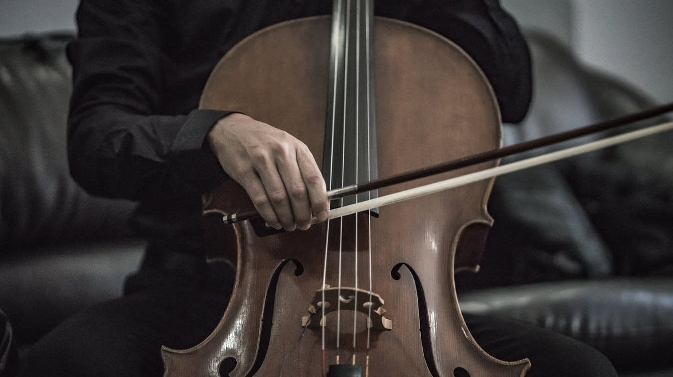 The cello.