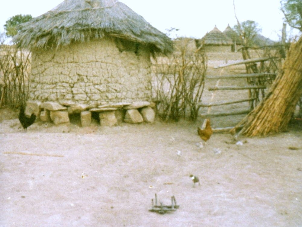 Nidal Kram's home in Sudan