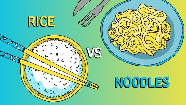 Rice vs Noodles