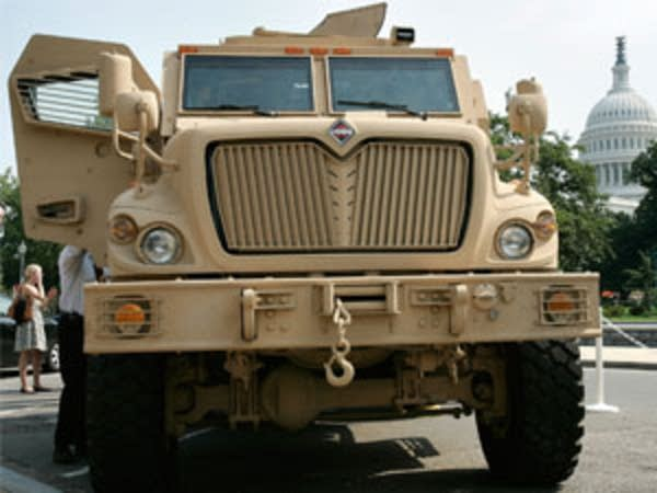 Anti-mine vehicle