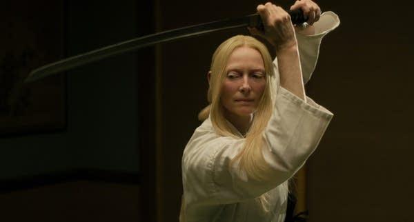 """Tilda Swinton stars as """"Zelda Winston"""""""