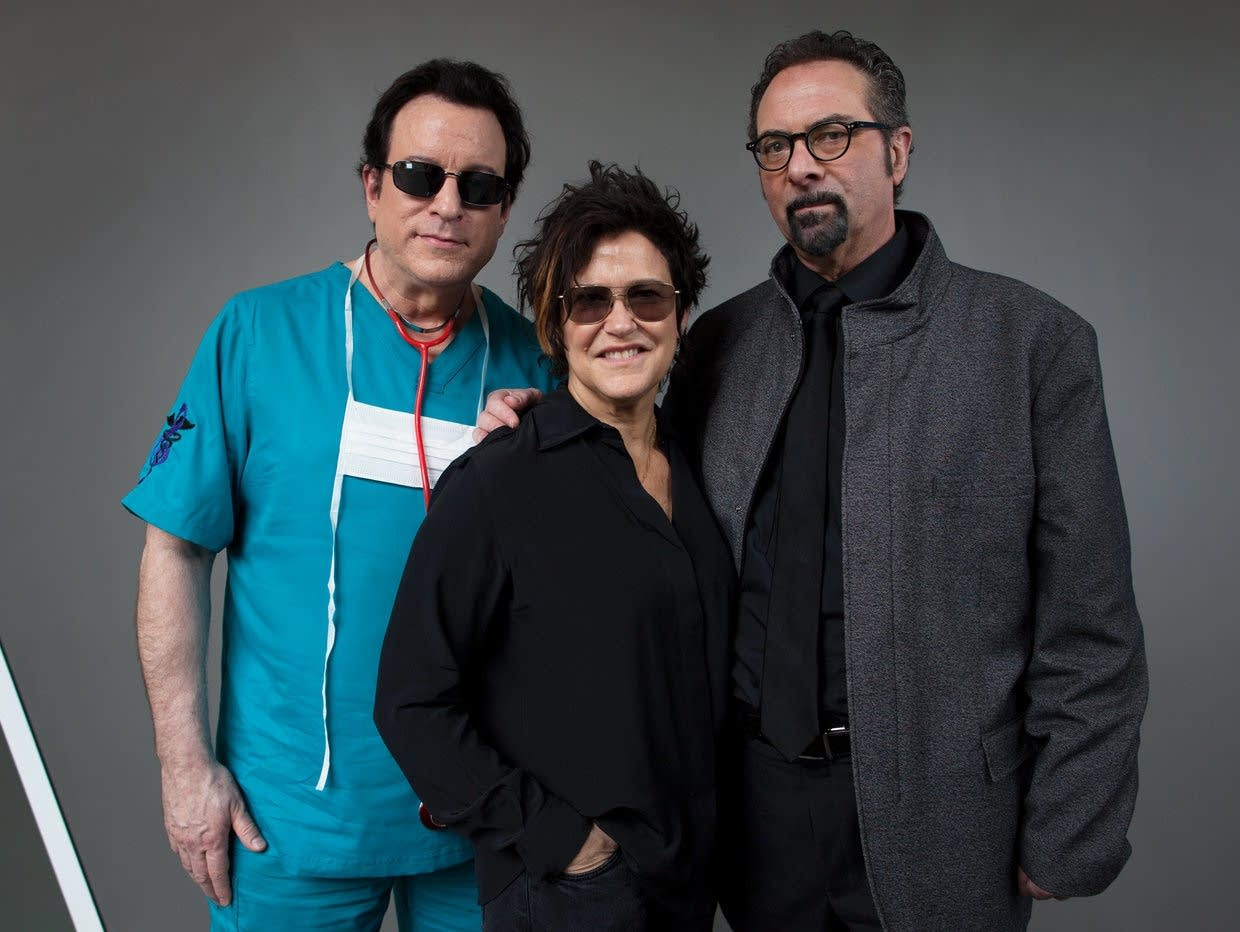 Dr. Fink, Wendy Melvoin and Bobby Z