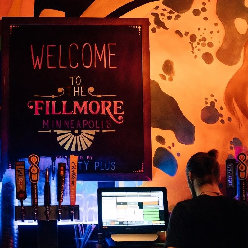 A bar at the Fillmore Minneapolis.