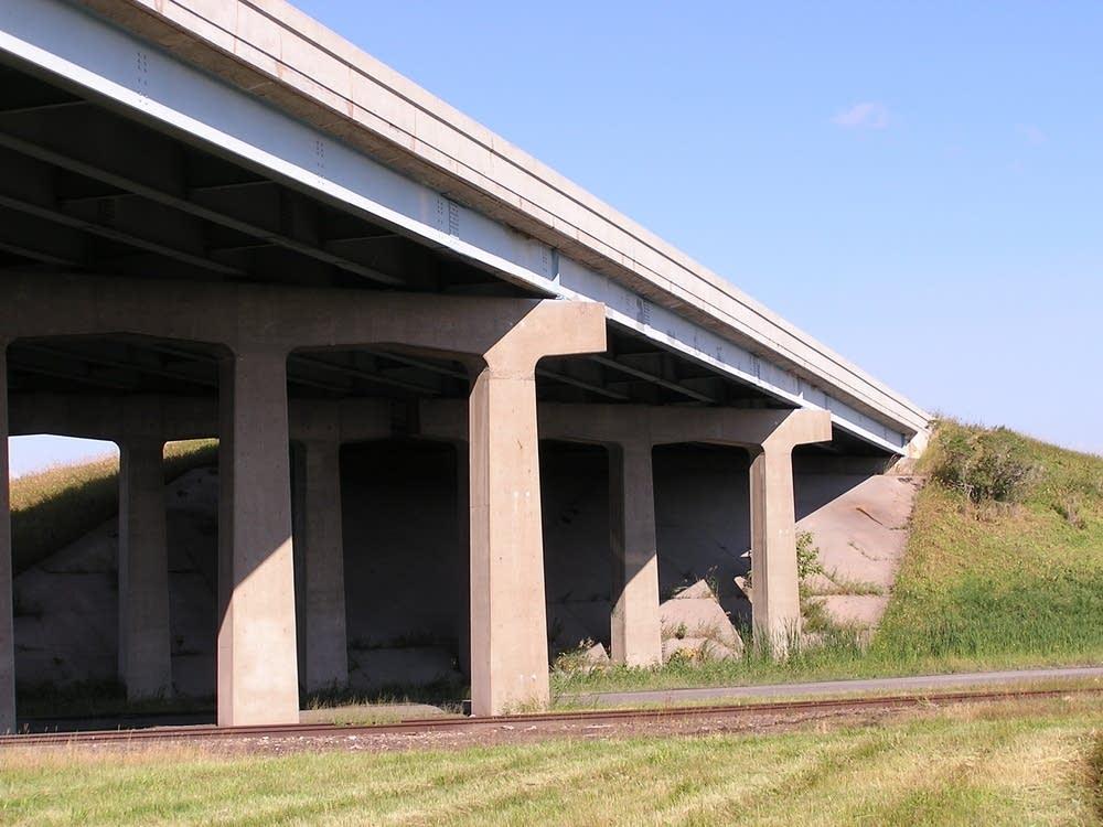 A highway overpass