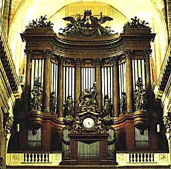 1862 Cavaillé-Coll organ at Léglise Saint-Sulpice, Paris, France