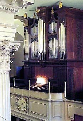 1964 C.B. Fisk organ at King's Chapel, Boston, MA