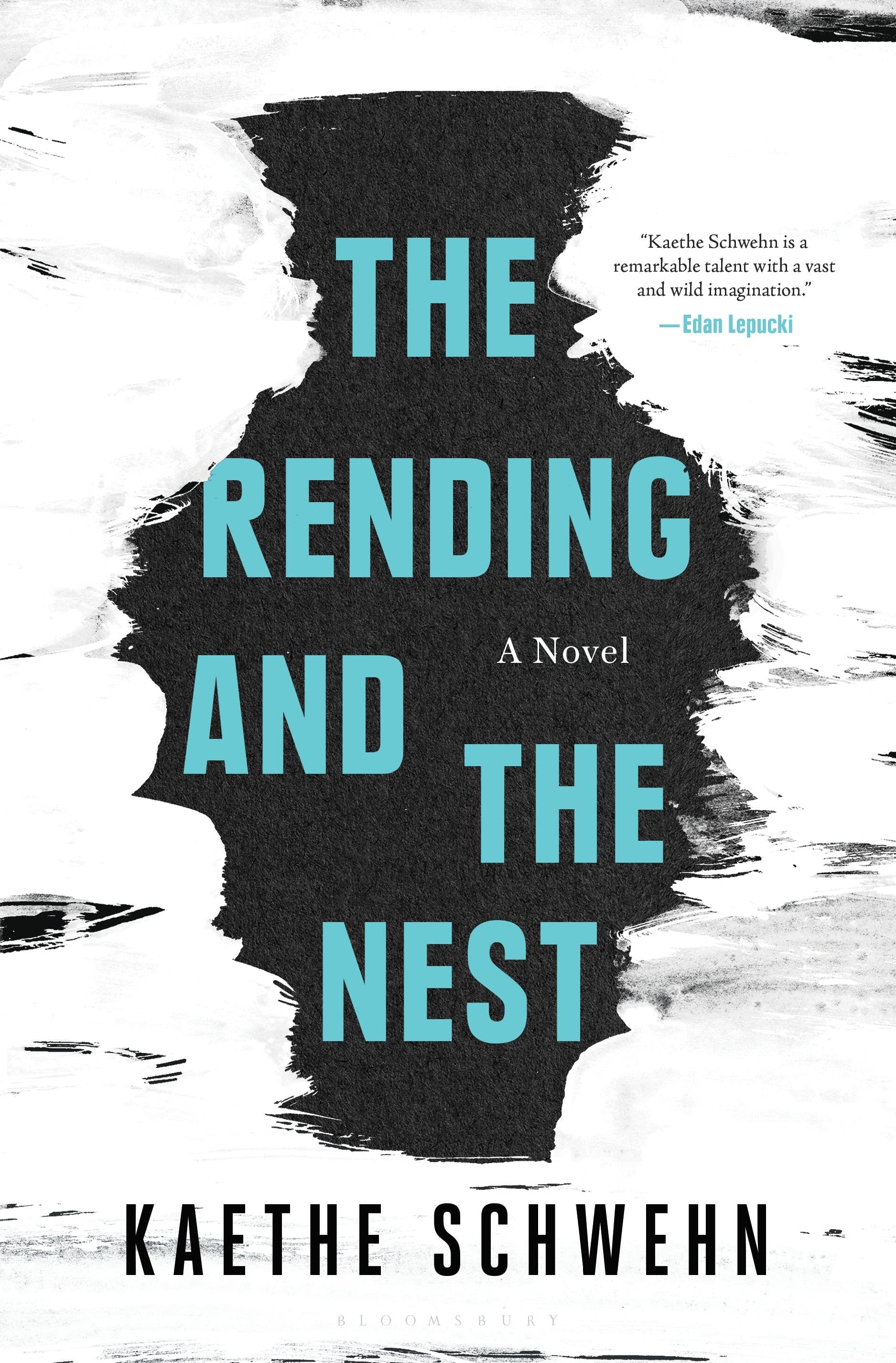 """The Rending and the Nest"" book cover"