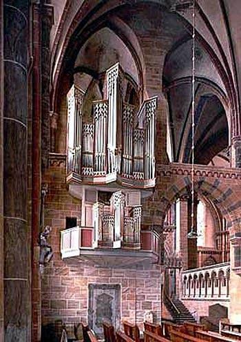 1966 van Vulpen organ at Saint Peter's Cathedral, Bremen, Germany