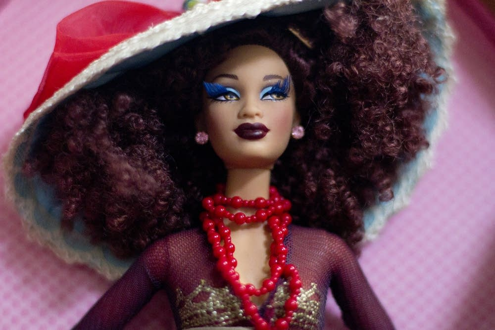 Robin Hickman's Barbie collection