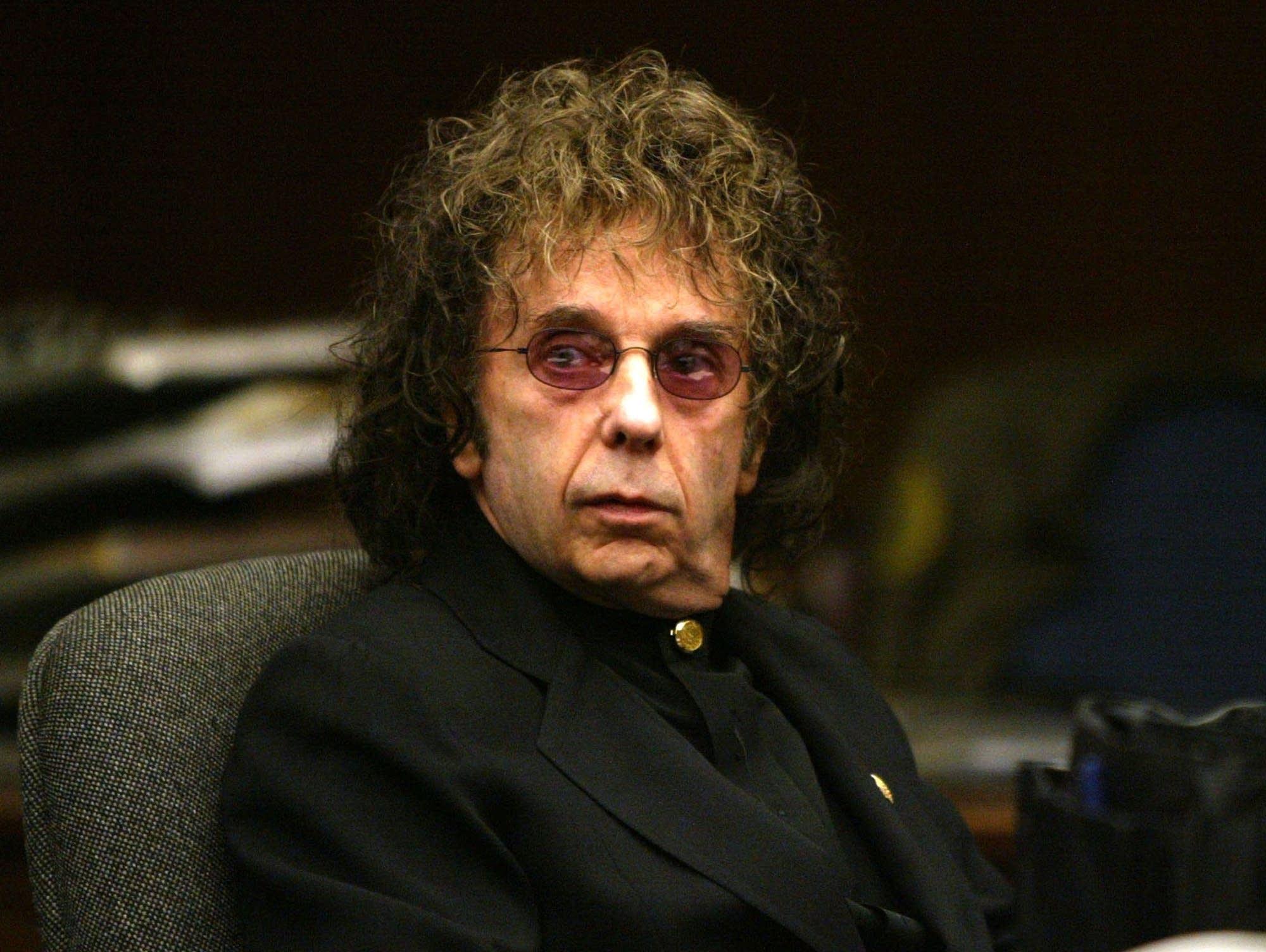 Phil Spector in court, 2004.