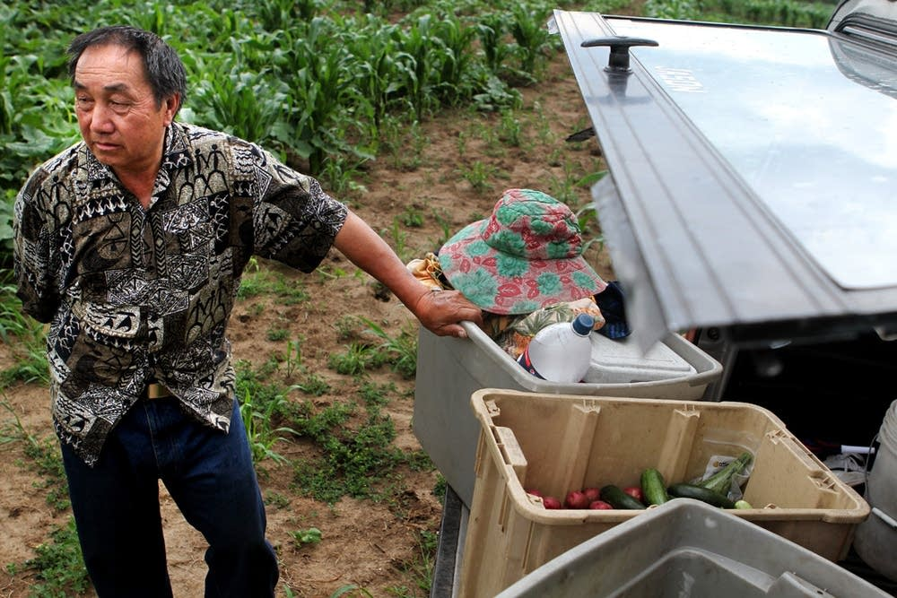 Hmong farmer questions his safety