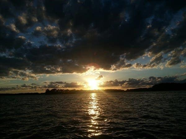 1616 tonka sunset