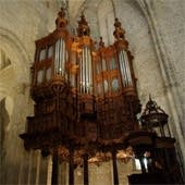 1976 Zwiderski at the Cathedral of Saint–Bertrand, Comminges, France