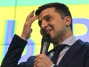 Ukrainian comedian Volodymyr Zelenskiy