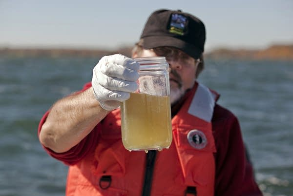 Hydrologist Richard Kiesling