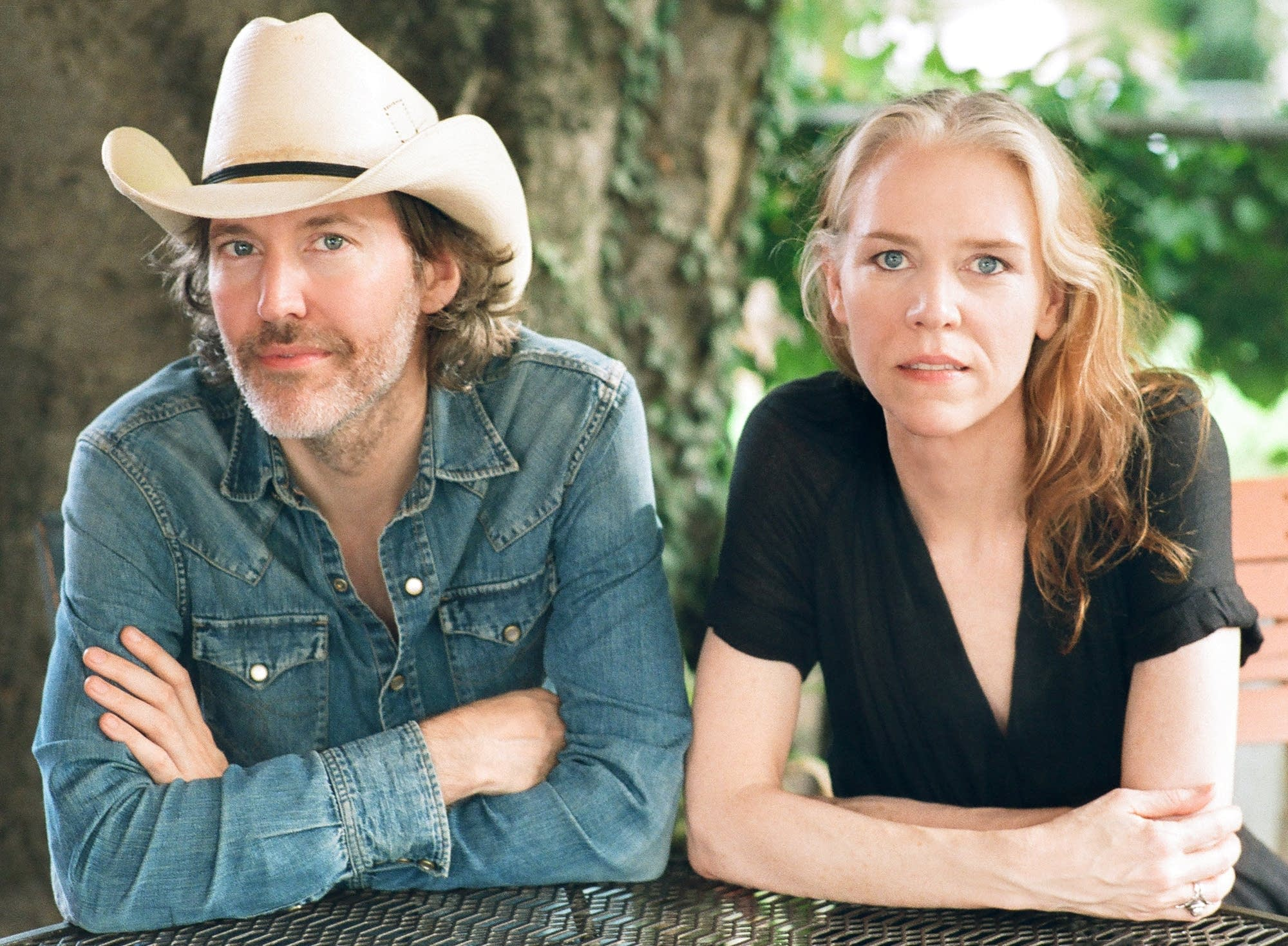 Gillian Welch and partner Dave Rawlings