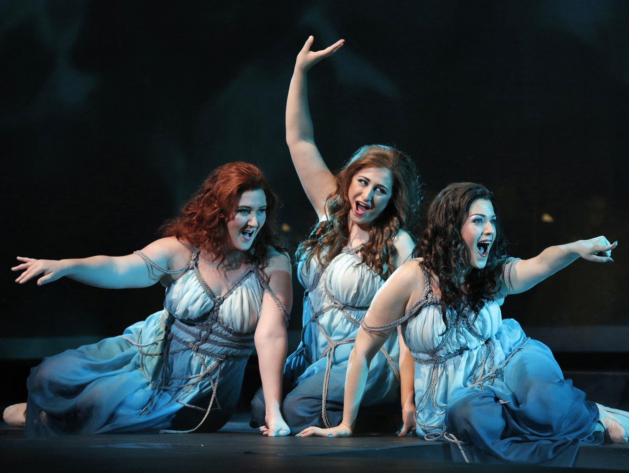 Three Rhinemaidens