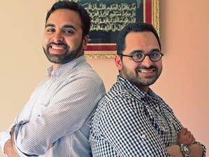 Amin Aaser, left, and his brother, Mohammed Aaser