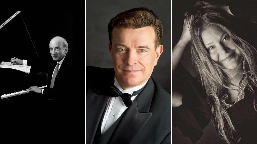 Dick Hyman, Vince Giordano, Andra Suchy
