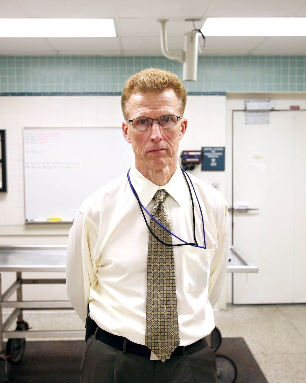 Ramsey County medical examiner Michael McGee under