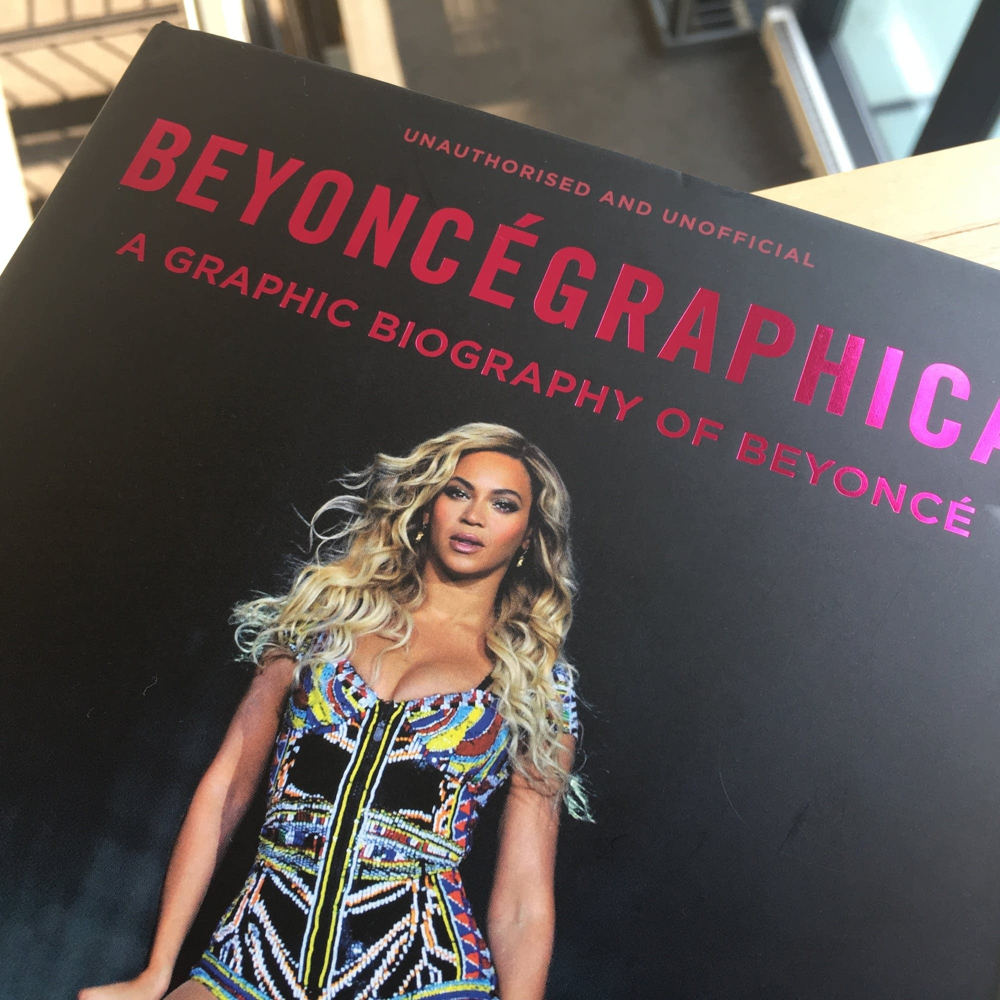 The cover of 'Beyoncegraphica.'