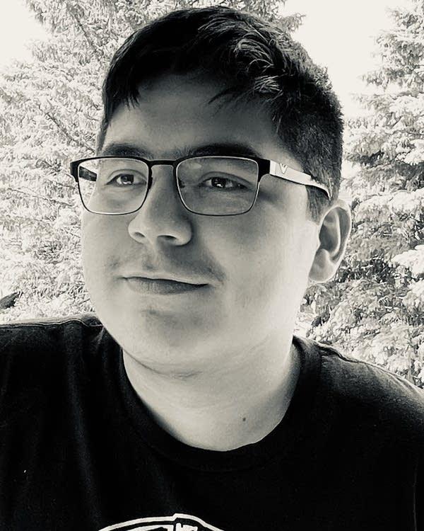 Radio Camp 2021 reporter Jaydin Fairbanks