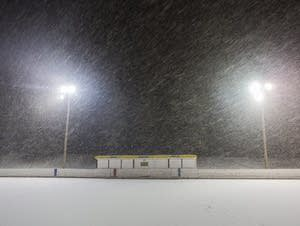 The outdoor hockey season has shrunk dramatically in recent decades.