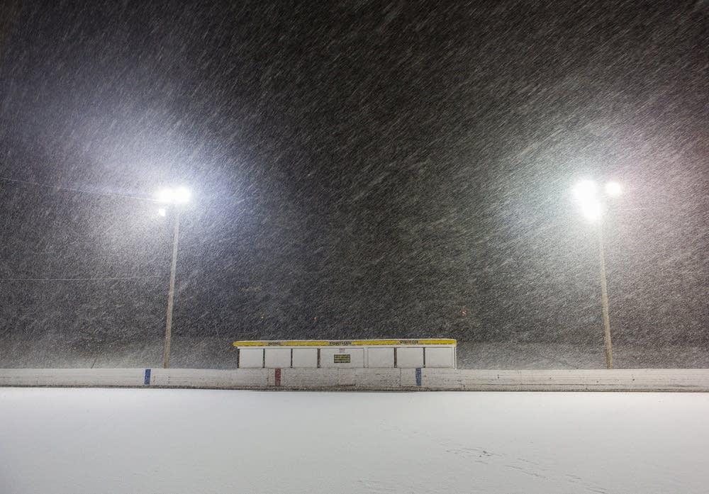 The outdoor hockey season has shrunk dramatically in recent decades.