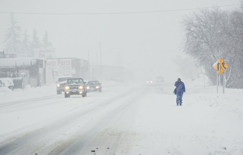 Treacherous travel in Duluth