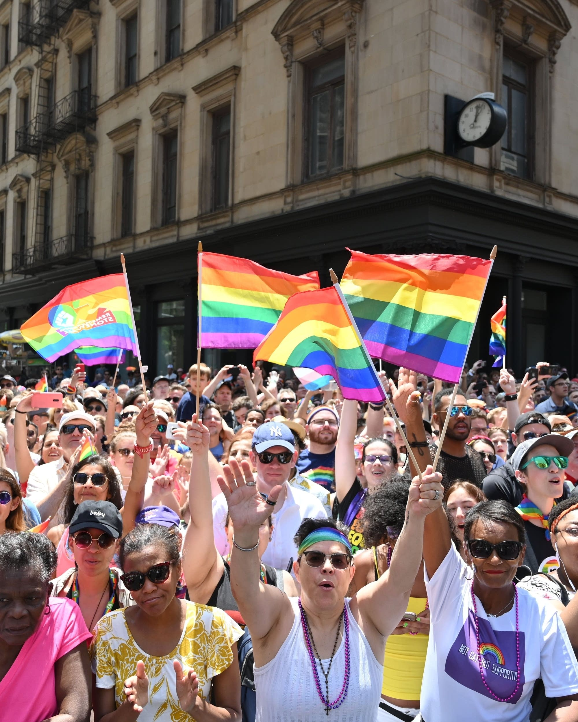 50 Years Of Lgbtq Pride Showcased In Protests Parades Mpr News