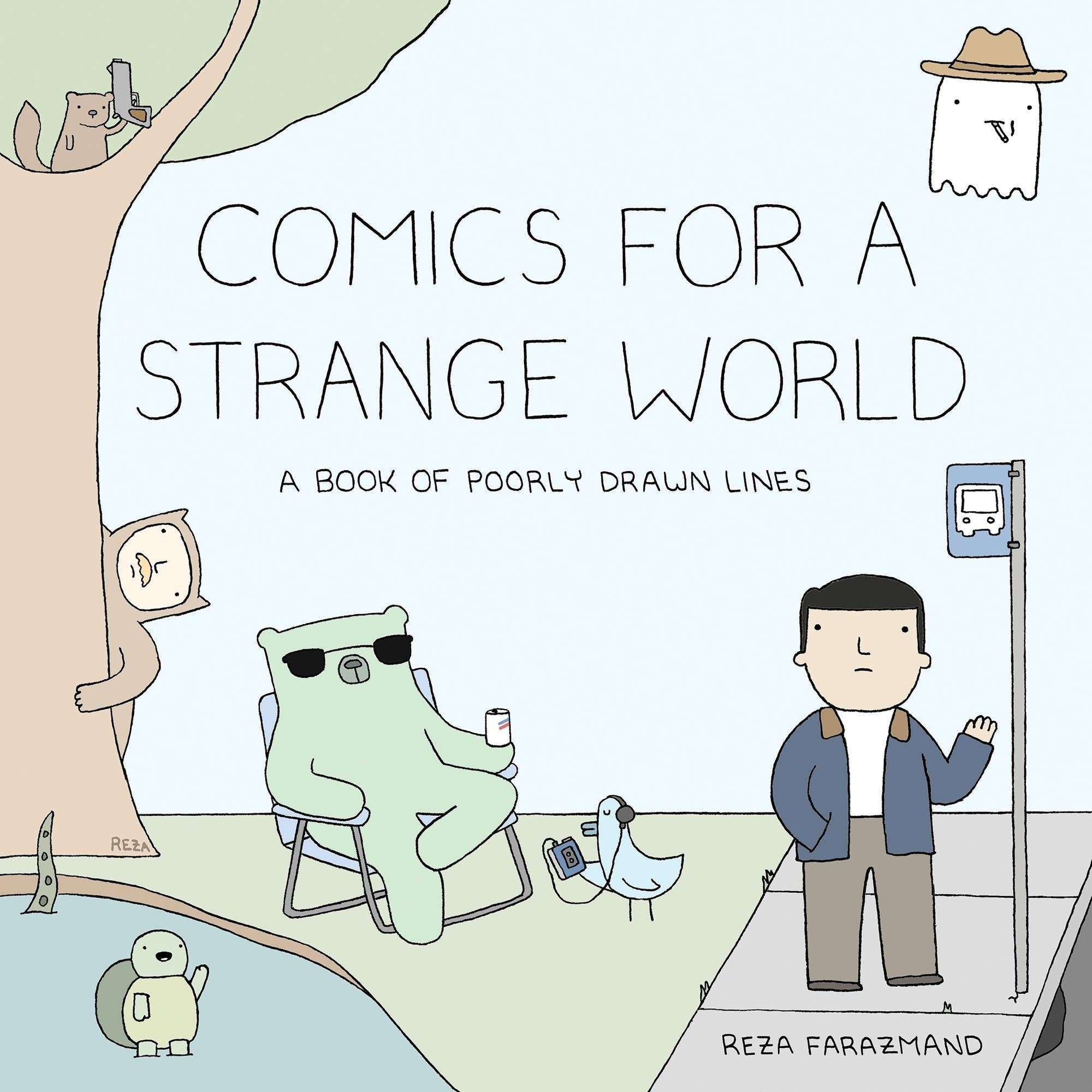 'Comics for a Strange World'