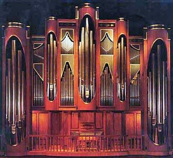 1993 C.B. Fisk organ in the Caruth Auditorium at Southern Methodist University, Dallas, TX