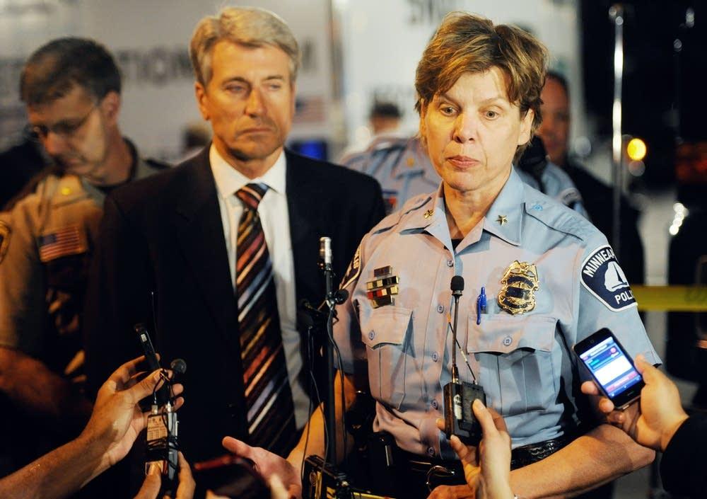 Minneapolis Police Deputy Chief Kris Arneson