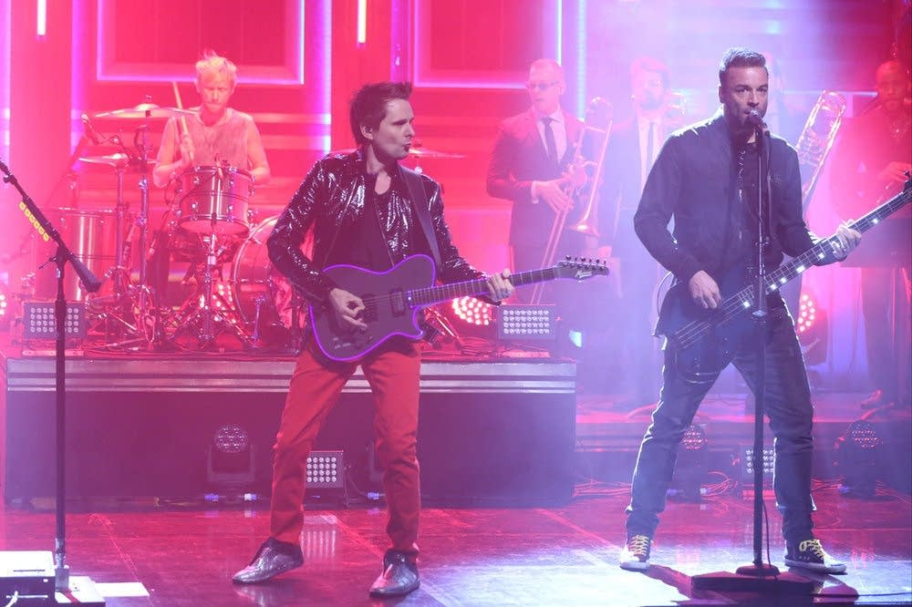 Muse perform on 'The Tonight Show Starring Jimmy Fallon'