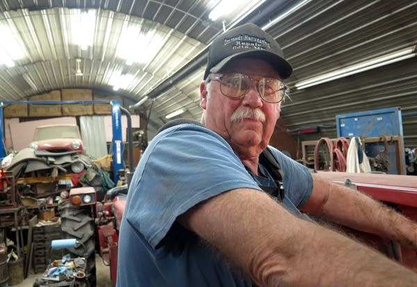 Duane Ommodt is concerned about the upcoming crops
