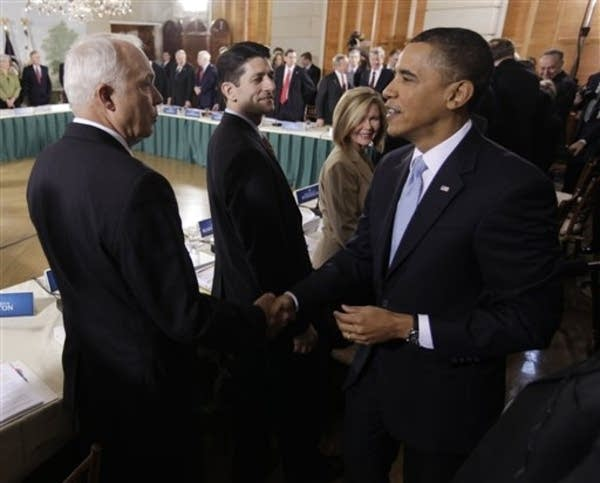 Barack Obama, John Kline, Paul Ryan, Marsha Blackb