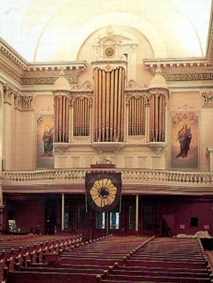 1932 Bartholomay organ at Saint Vincent de Paul, RCC