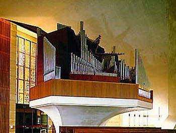 1971 Ruffatti organ at St. Mary's Cathedral, San Francisco, California